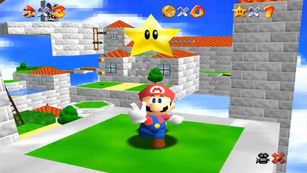 Super Mario 64: Un speedrunner recoge todas las estrellas en un tiempo récord
