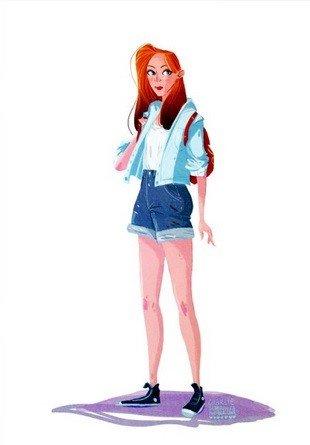 Juego de Tronos: los personajes se pasan a la moda hipster en estas ilustraciones