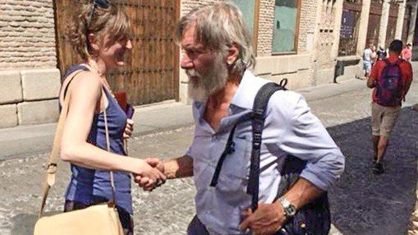 Cazan a Harrison Ford de incógnito por Toledo