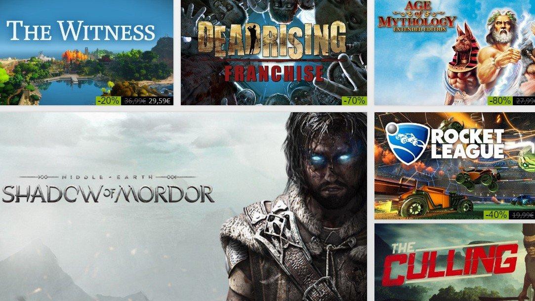 Steam presenta sus ofertas de verano del 27 de junio de 2016