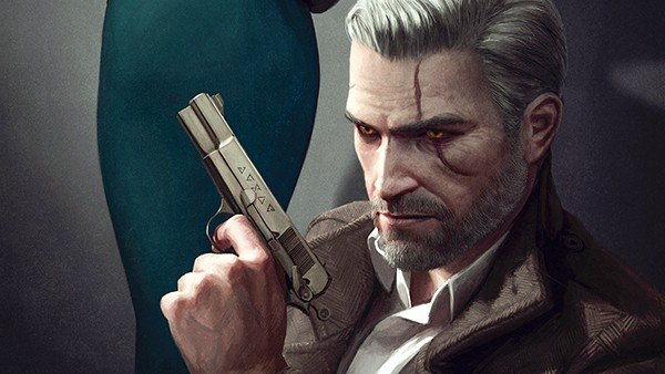 Reimaginan a varios personajes de videojuegos al estilo noir