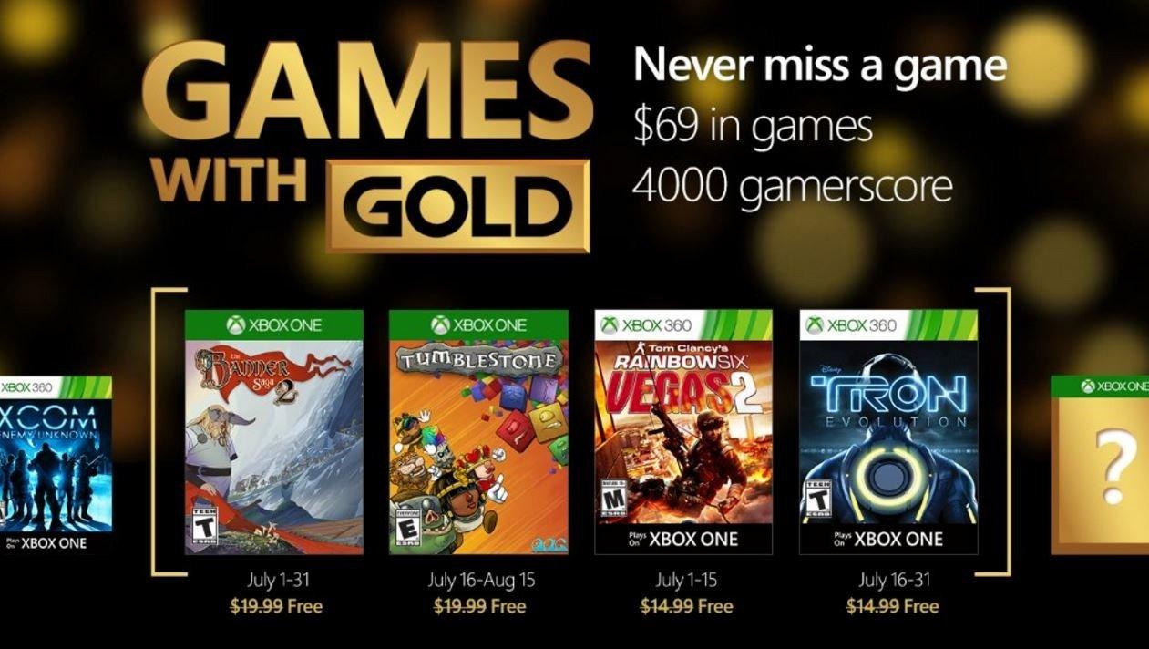 Games with Gold desvela sus juegos gratuitos para julio de 2016