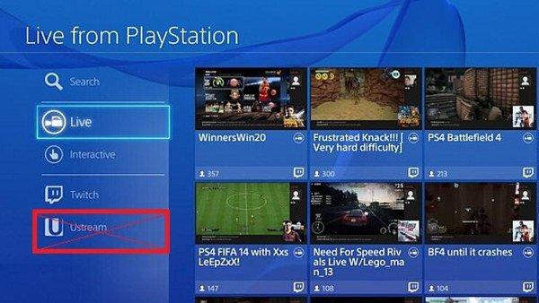 Sony deja de dar soporte al servicio Ustream