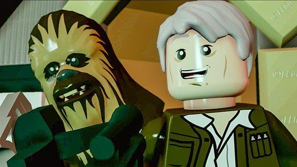 LEGO Star Wars: El Despertar de La Fuerza presenta a Han Solo y Chewbacca en un tráiler