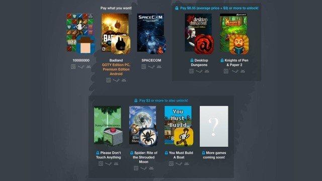 Un nuevo Humble Bundle te ofrece juegos para PC y móvil
