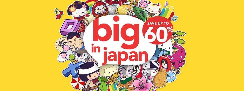 """PlayStation Store comienza sus descuentos """"Big in Japan"""""""
