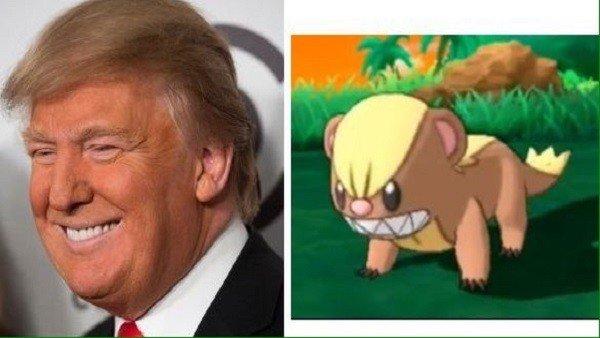 Pokémon: Las redes encuentran una criatura igual que Donald Trump