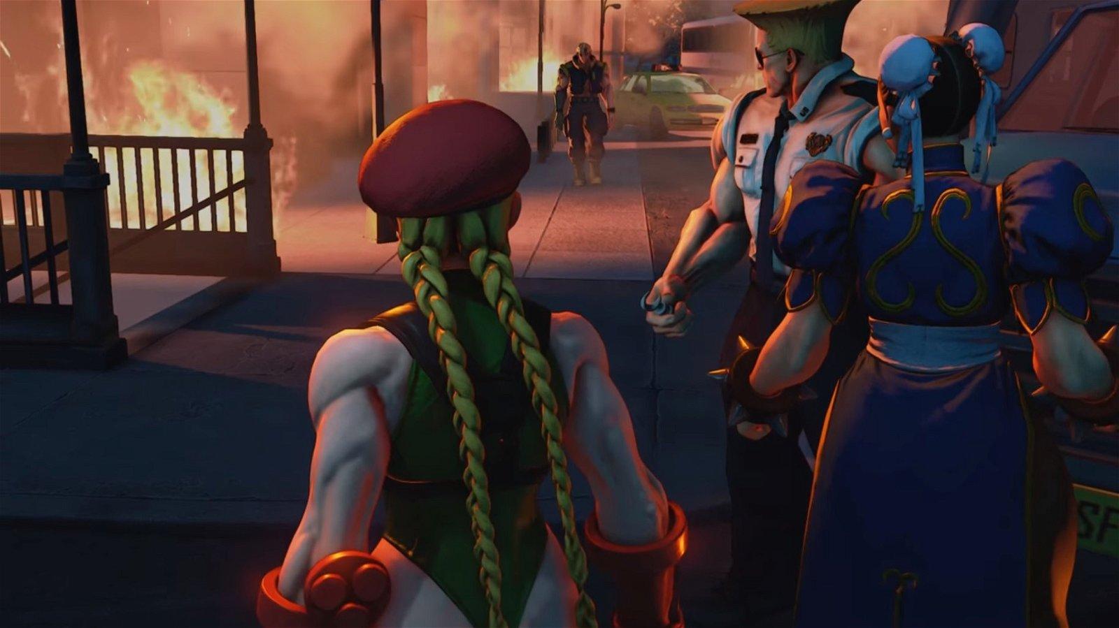 Street Fighter V presenta su modo historia en un nuevo tráiler