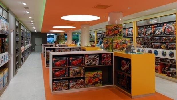 Se ha abierto en Madrid la tienda de LEGO más grande de España