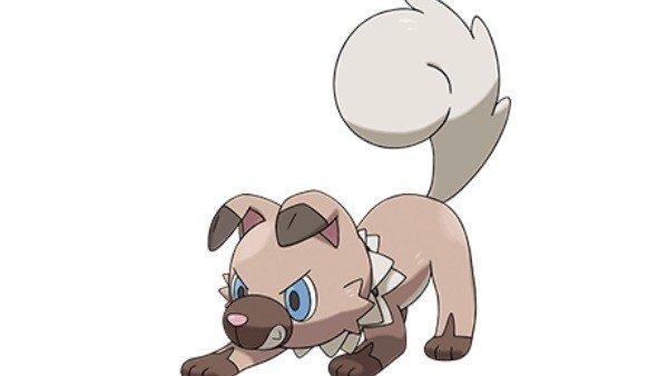 Este es Rockruff, otro de los debutanes en Pokémon Sol/Luna
