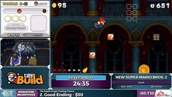 New Super Mario Bros 2: La batería de la 3DS fastidia el récord de un speedrunner