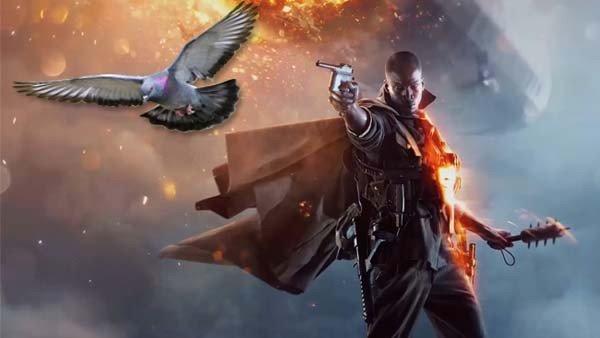 Battlefield 1 podría tener un modo paloma