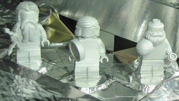LEGO ha enviado tres figuras a bordo de Juno, el satélite que ha llegado a Júpiter