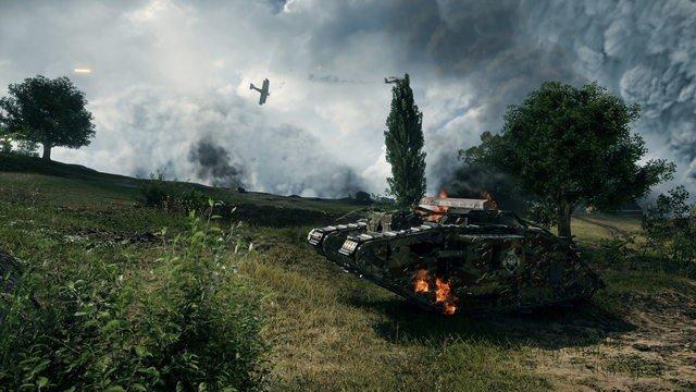 Battlefield 1 esconde armas especiales en su beta