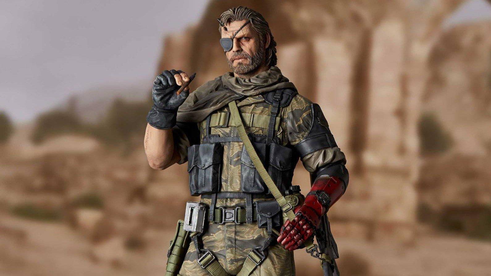Metal Gear Solid V presenta una impresionante figura de Venom Snake