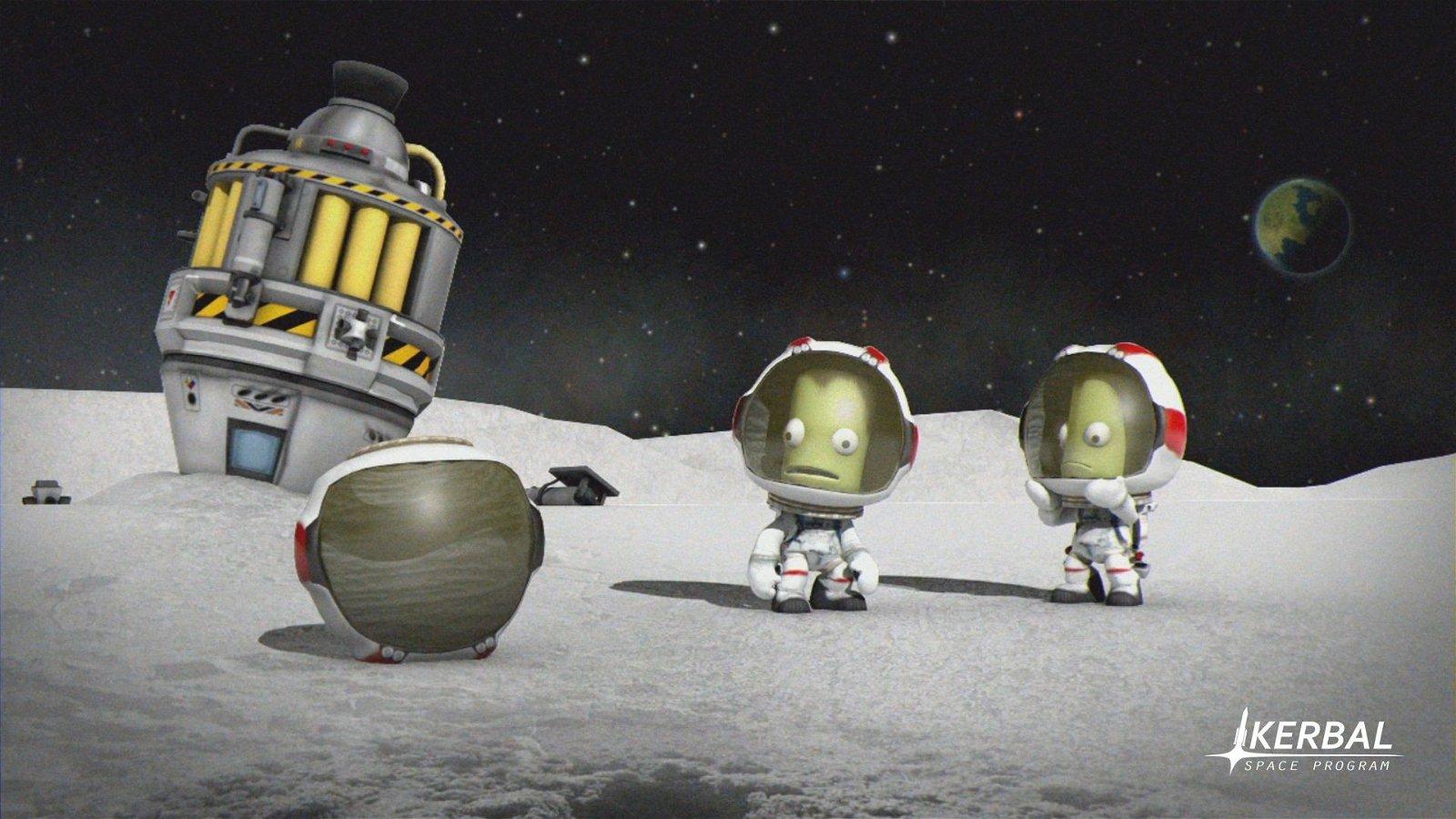 Kerbal Space Program llegará a PlayStation 4 y Xbox One en julio
