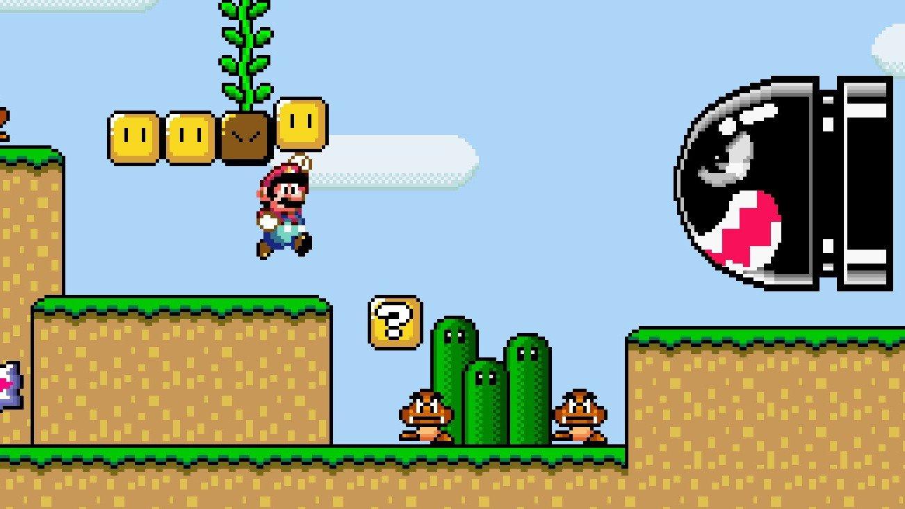 Un speedrunner supera Super Mario World sin utilizar un solo power-up