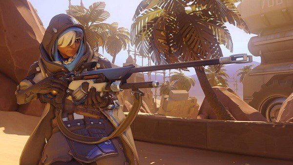 Overwatch: Ana está causando sensación en el modo Total Mayhem