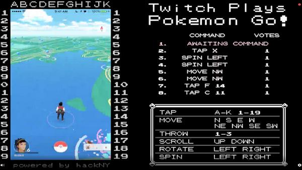 Twitch se anima a jugar a Pokémon GO