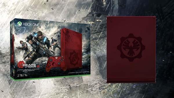 Gears of War 4: Se filtran las primeras imágenes de la Xbox One S inspirada en el juego