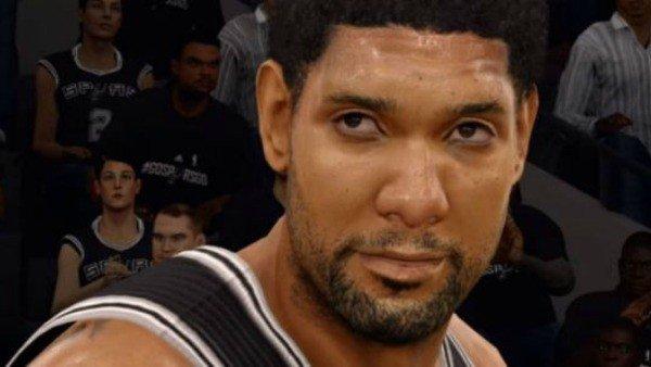 Así ha cambiado Tim Duncan de NBA Live 98 a NBA 2K16
