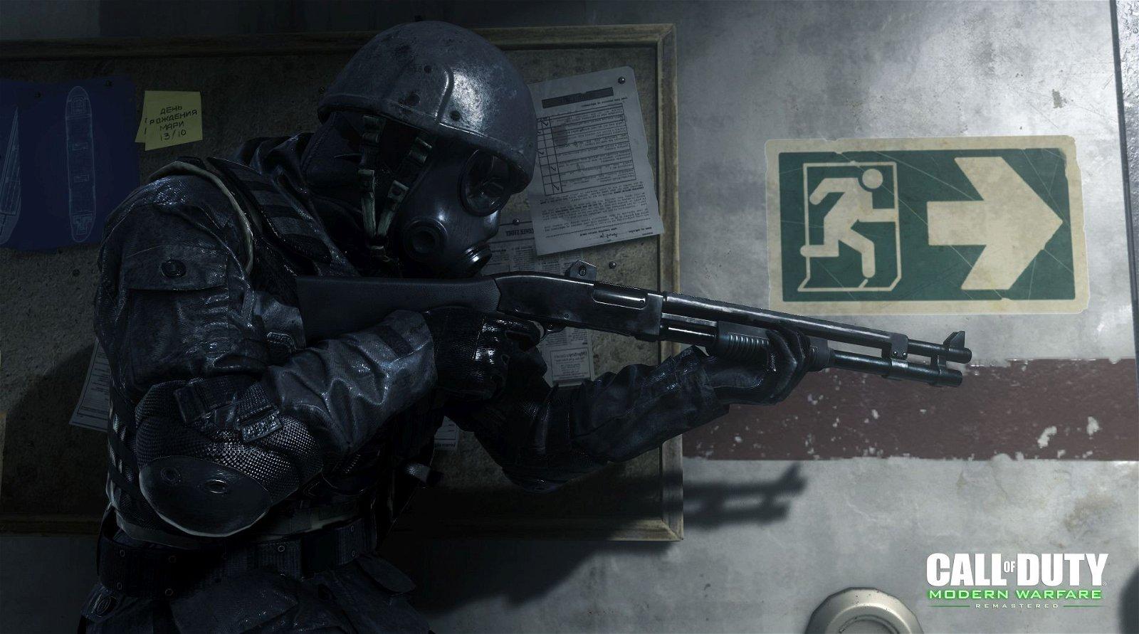 La remasterización de Call of Duty 4 se muestra en un nuevo gameplay