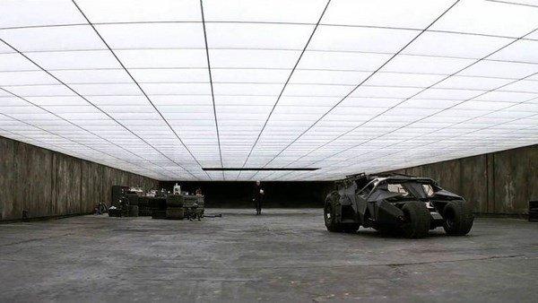 Una familia se construye el lujoso garaje de Batman