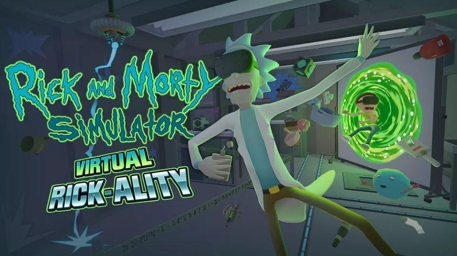 Rick and Morty muestra su videojuego para la realidad virtual