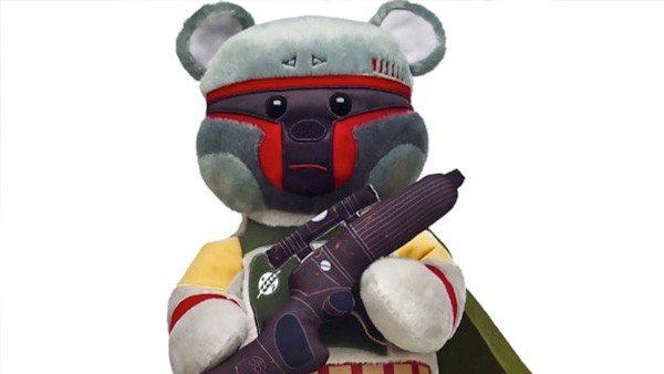 Star Wars añade a Boba Fett a su línea de osos de peluche