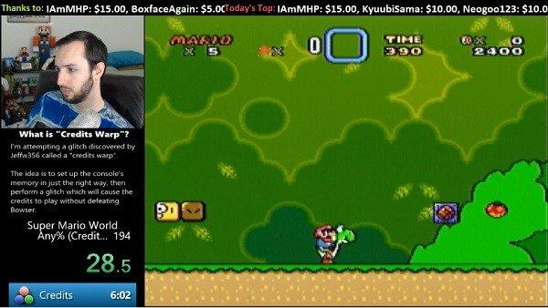 Super Mario World: Un speedrunner consigue un nuevo récord gracias a un difícil glitch