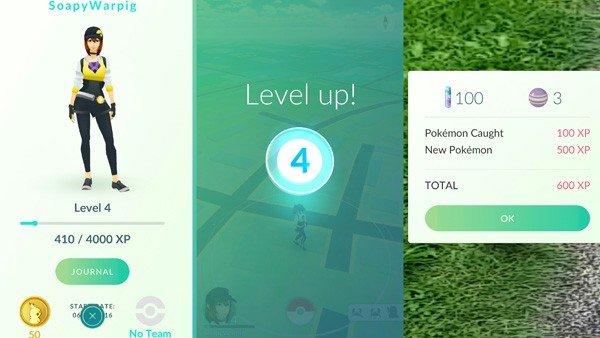 Pokémon GO: Estos trucos te ayudarán a subir de nivel rápidamente
