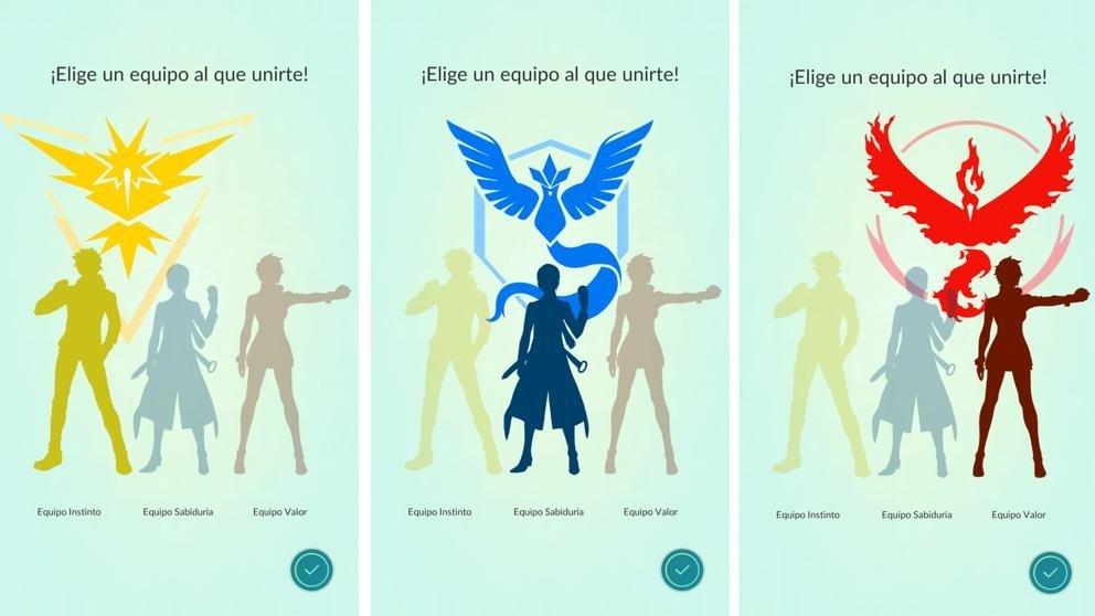 Pokémon GO desvela los aspectos de los líderes de los equipos
