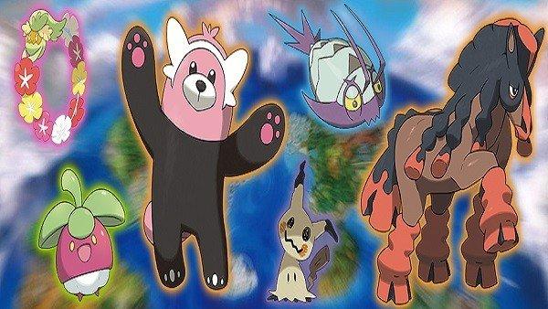Pokémon Sol/Luna presenta a seis nuevas criaturas
