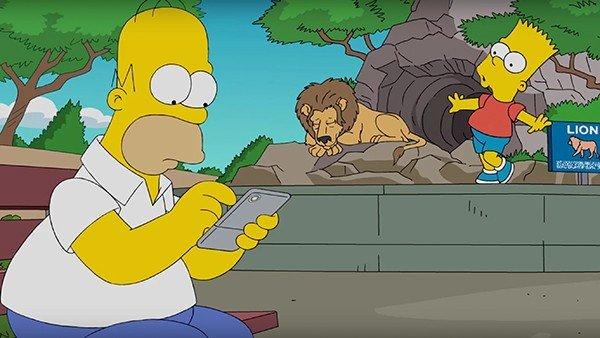 Pokémon GO: Homer Simpson también es fan de la aplicación