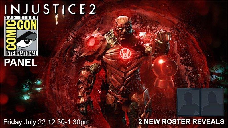 Injustice 2 mostrará dos nuevos personajes en la Comic-Con