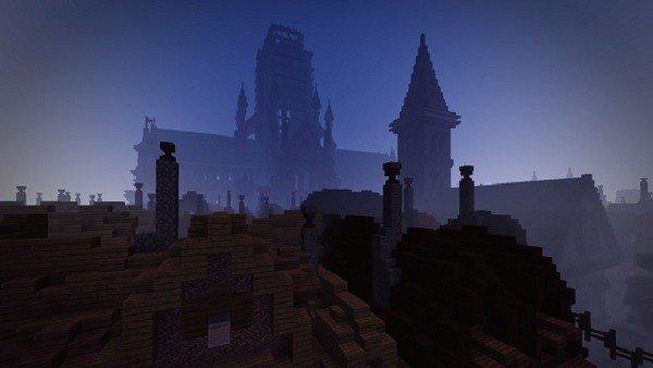 Minecraft recrea el Gran Incendio de Londres