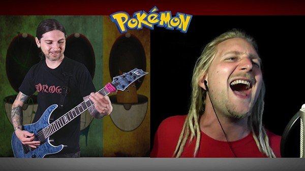 Pokémon: Interpretan el tema principal de la serie al estilo metal