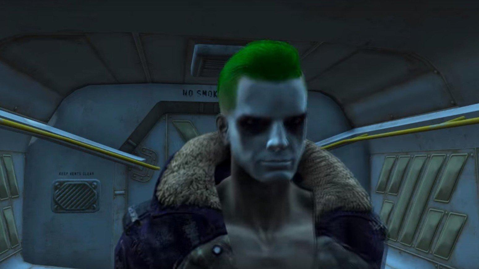 Fallout 4: Recrean el tráiler final de Escuadrón Suicida gracias a los mods