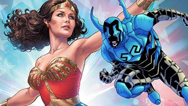Injustice 2: Wonder Woman y Blue Beetle se unen al elenco de luchadores