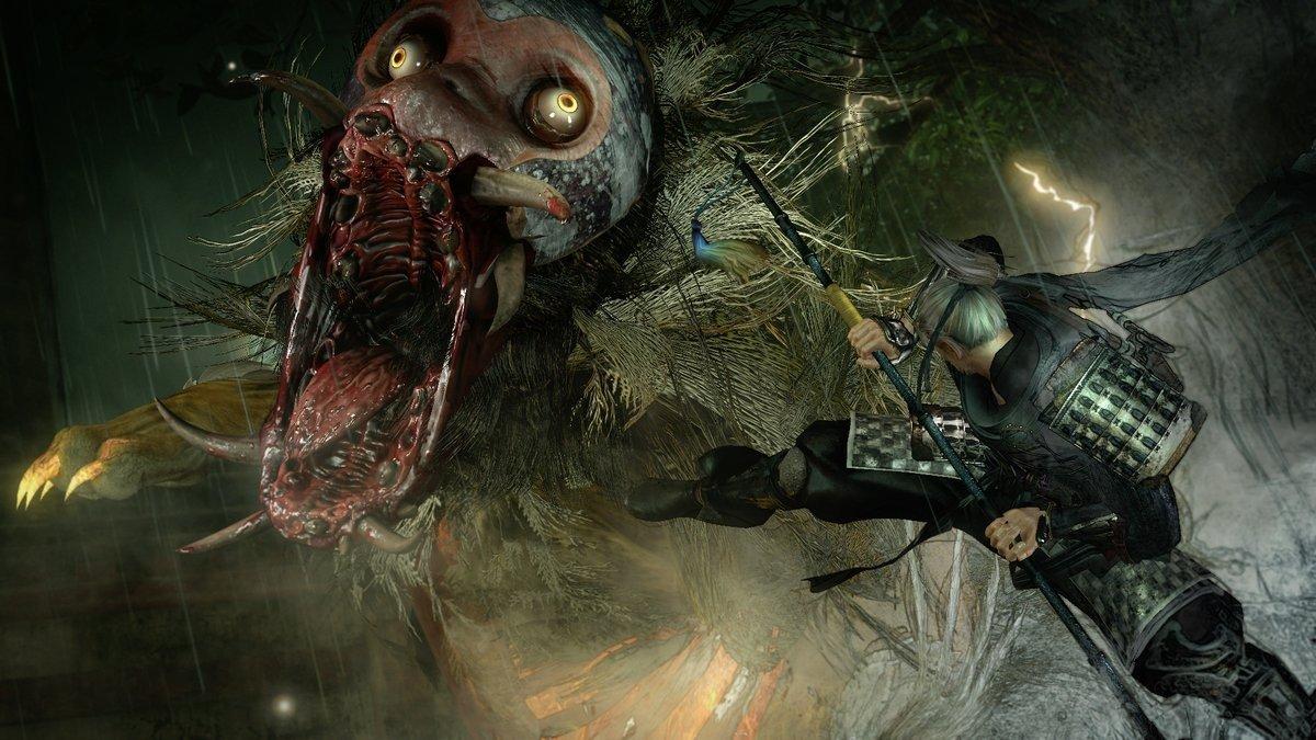 Nioh muestra el diseño de sus armas y armaduras