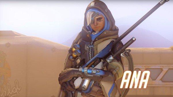 Overwatch permite que Ana sea utilizada para el trolleo