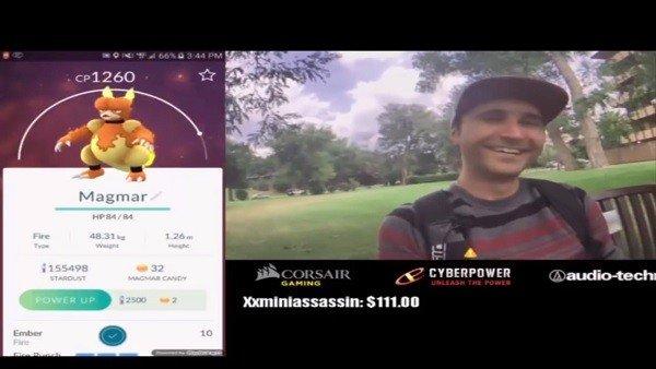 Pokémon GO: Un streamer es confundido en directo con un terrorista