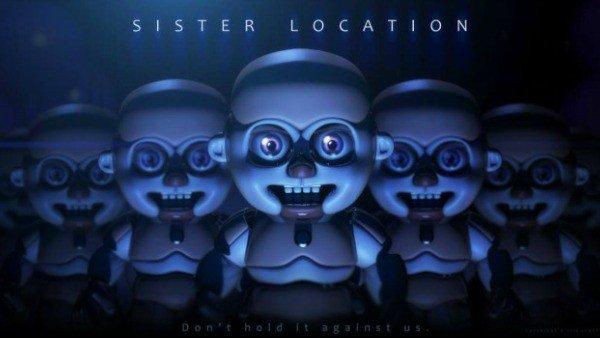 Five Nights at Freddy's: Sister Location llegará a comienzos de otoño, según un rumor
