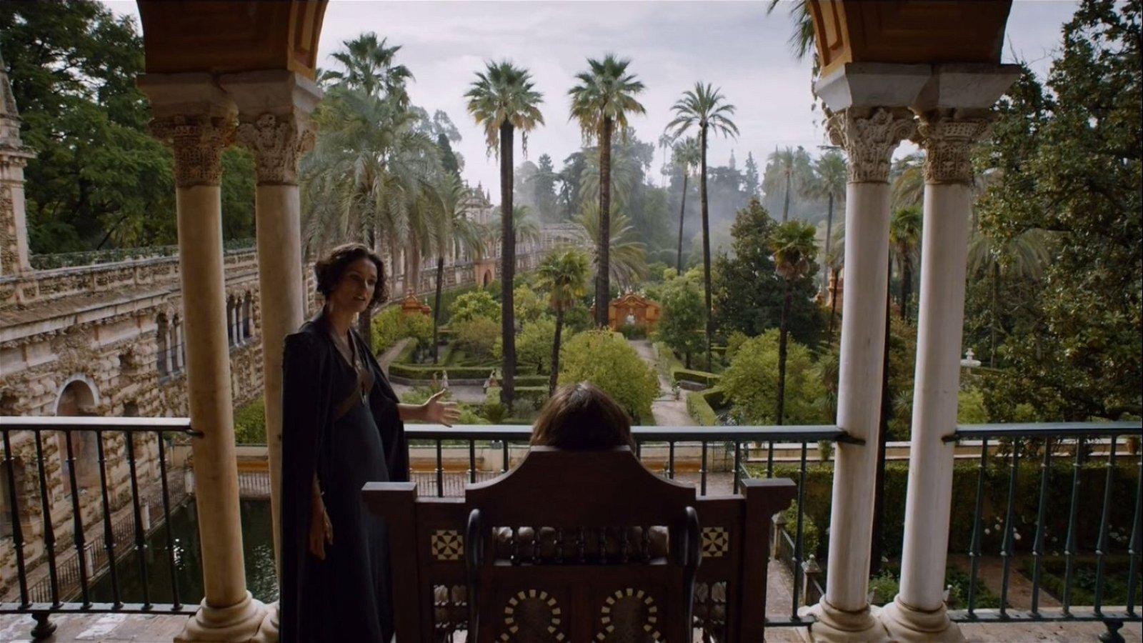 Juego de Tronos rodará en el Alcázar de Sevilla en otoño