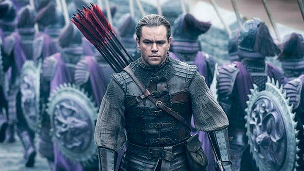 La Gran Muralla muestra en su primer tráiler a Matt Damon enfrentándose al mal