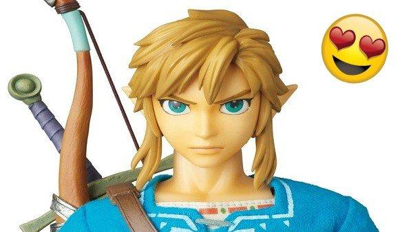 The Legend of Zelda: Breath of the Wild recibirá esta figura de Link que te quitará el aliento