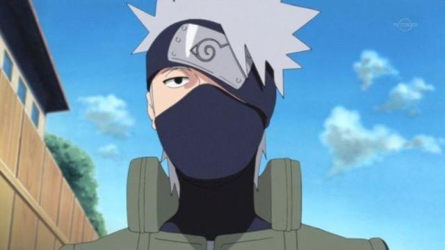 Naruto Shippuden muestra el rostro de Kakashi en el anime