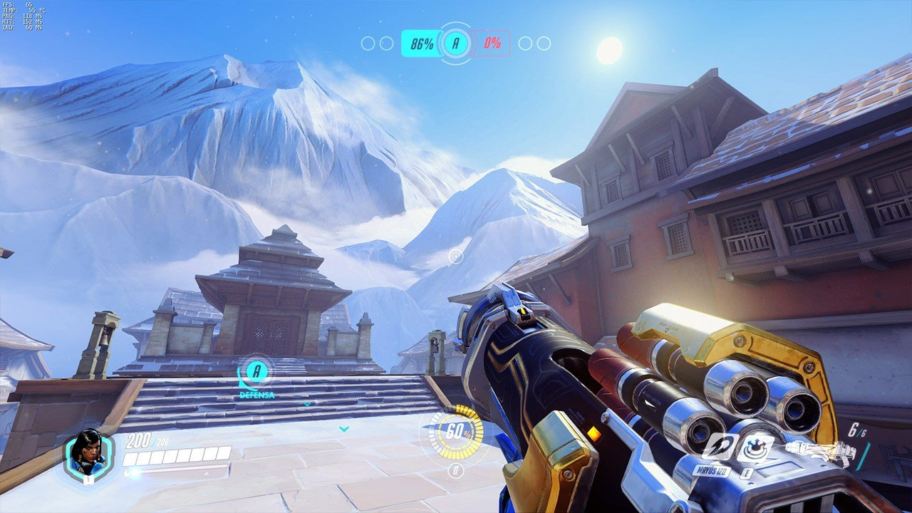 Overwatch: El mapa de Nepal tiene un glitch que permite moverse entre niveles