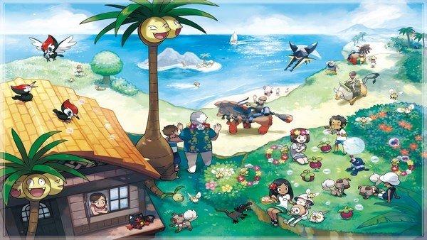 Pokémon Sol/Luna presenta nuevas criaturas, evoluciones y movimientos
