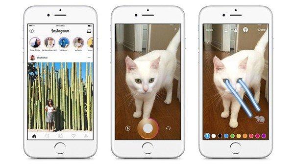 Instagram copia una de las funciones más conocidas de Snapchat